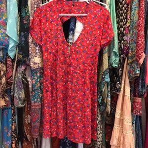 SAMPLE Spell Rambling Rose dress